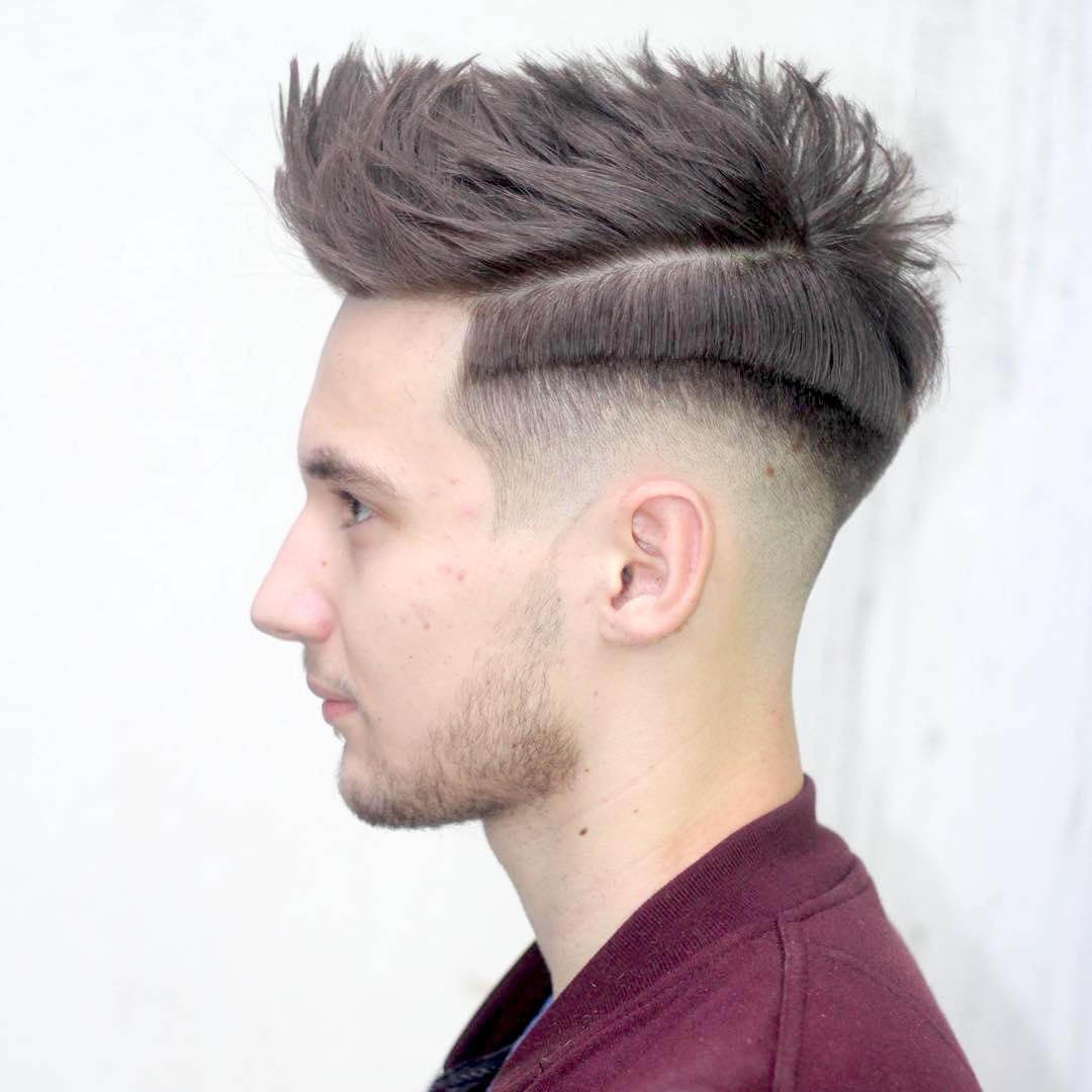 Hair Toupee | Mens Quiff | Glue on Hair Piece
