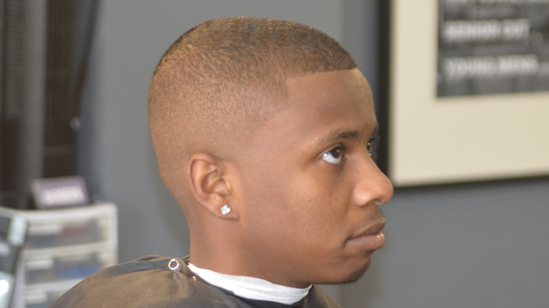 Haircut Lines on Side of Head | Bald Fade | Gentleman's Fade Haircut