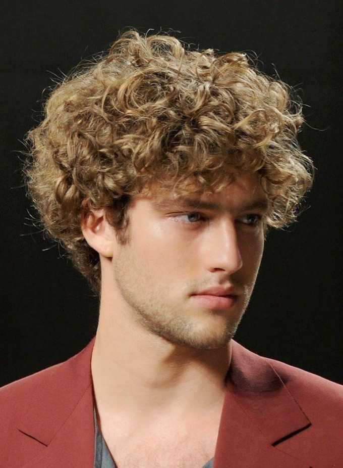 Haircuts For Men With Curly Hair | Curly Hair Color | Types Of Haircuts For Guys