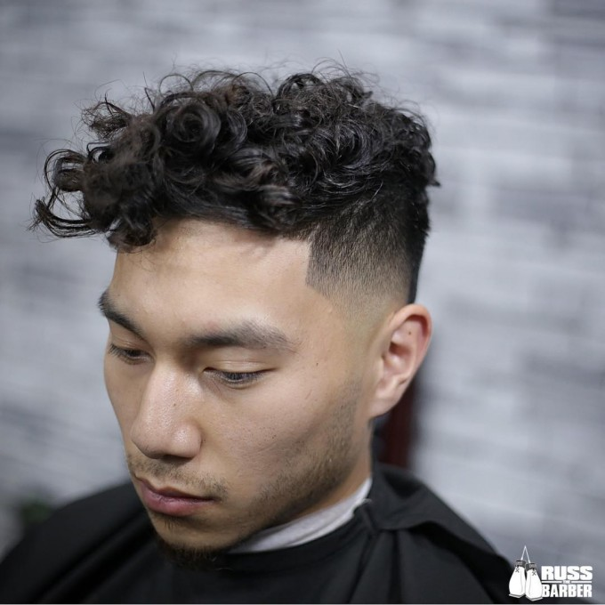 Haircuts For Men With Curly Hair | Thick Curly Hair | Haircuts For Thick Curly Hair