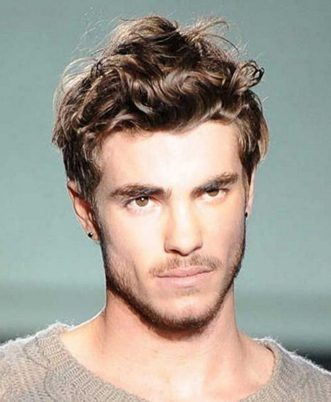 Haircuts For Men With Curly Hair | Trendy Haircuts For Men | Mens Popular Haircuts