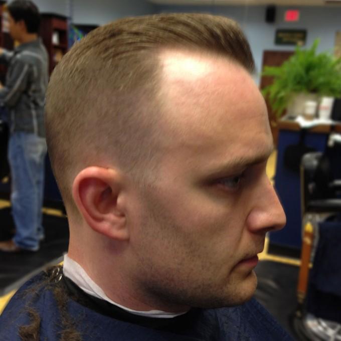 Haircuts For Receding Hairlines | Mens Haircuts For Fine Hair | Buzz Cut Thinning Hair