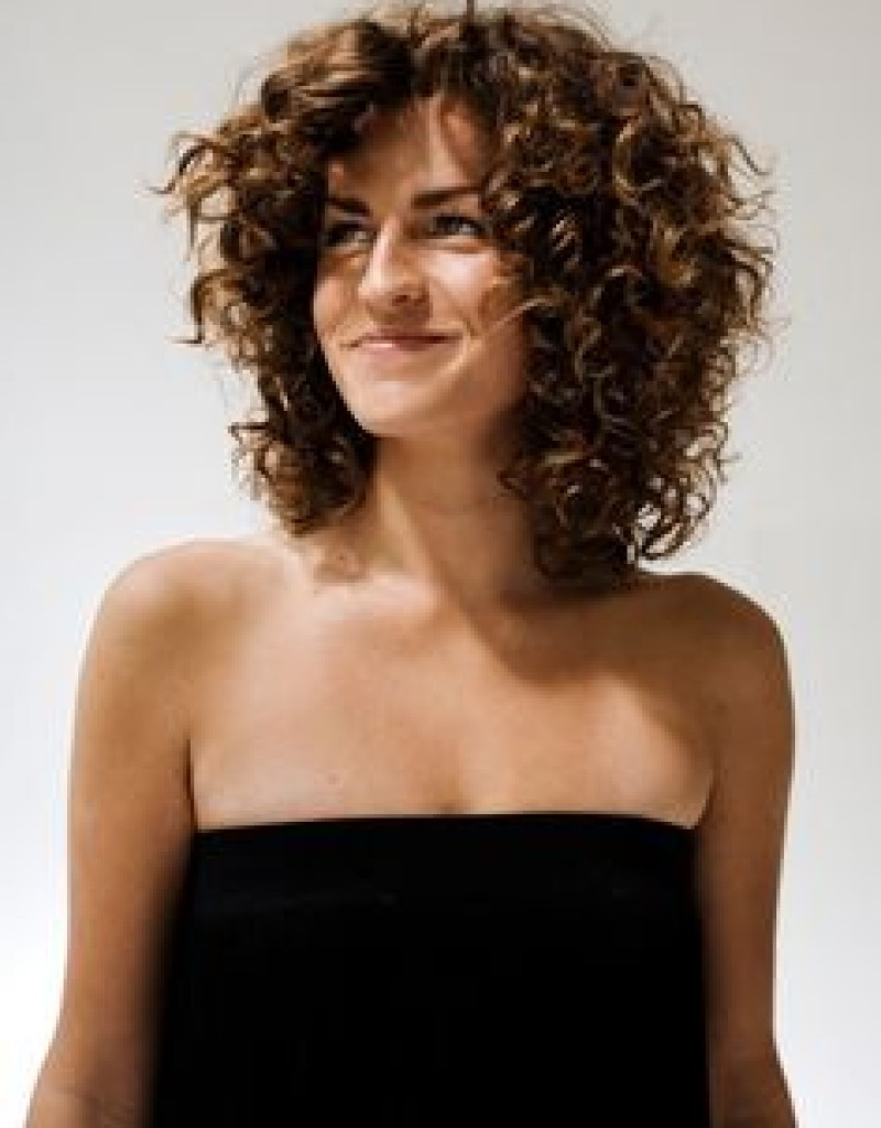 Hairstyle: Quick Hairstyles For Curly Hair | Layered Curly Hair ...