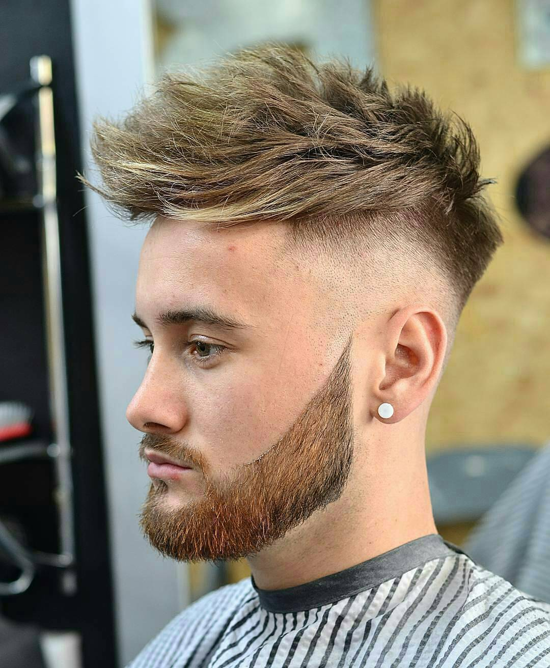 Hairstyle Haircuts With Fades Bald Fade Short Fade Haircut