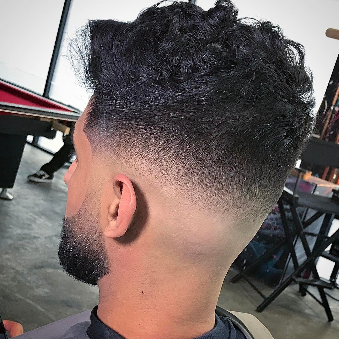 Hairstyles for Men Fade   Taper Fade Haircuts   Bald Fade