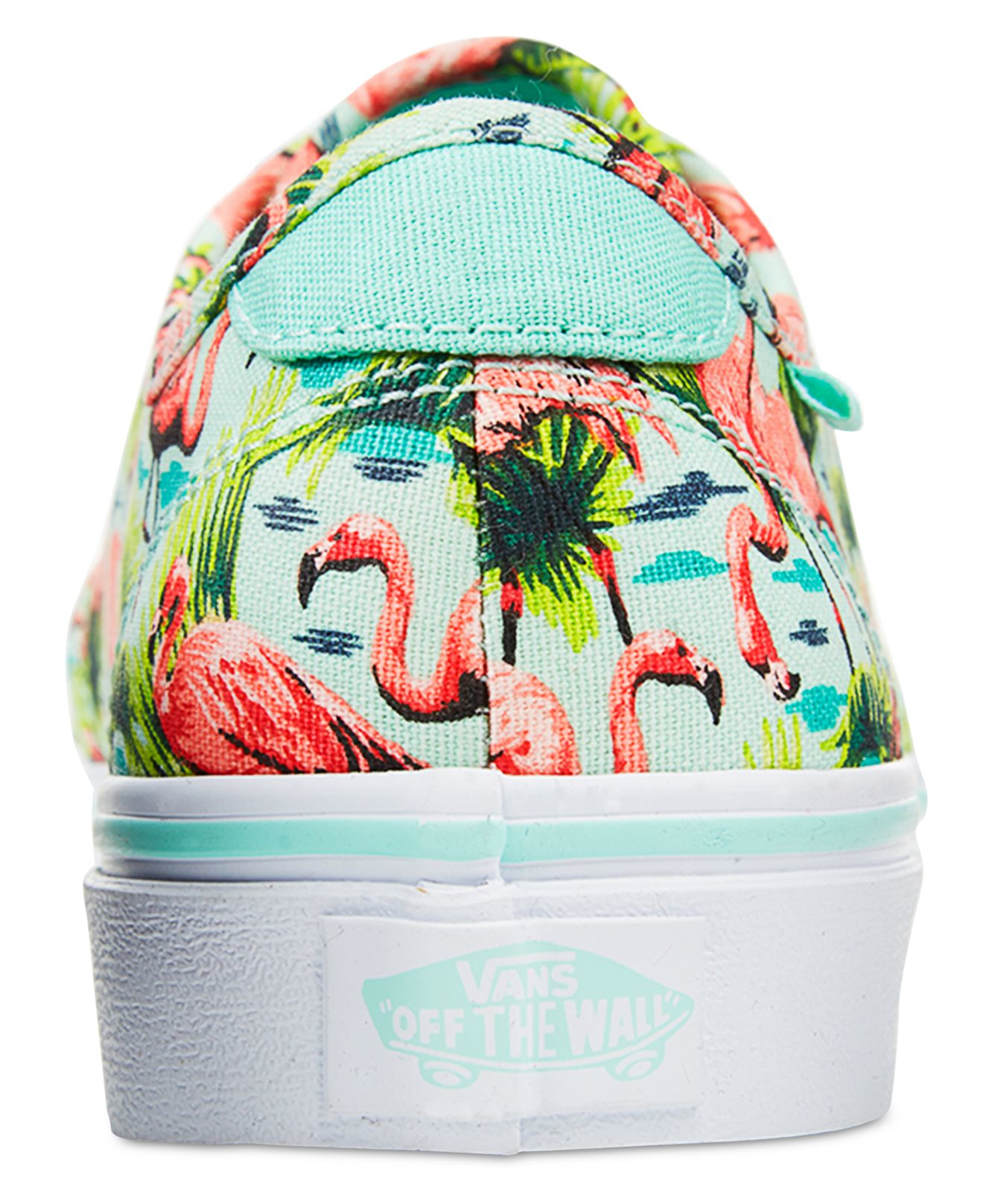 Hawaiian Print Vans Shoes | Vans Floral Shoes Men | Flamingo Vans