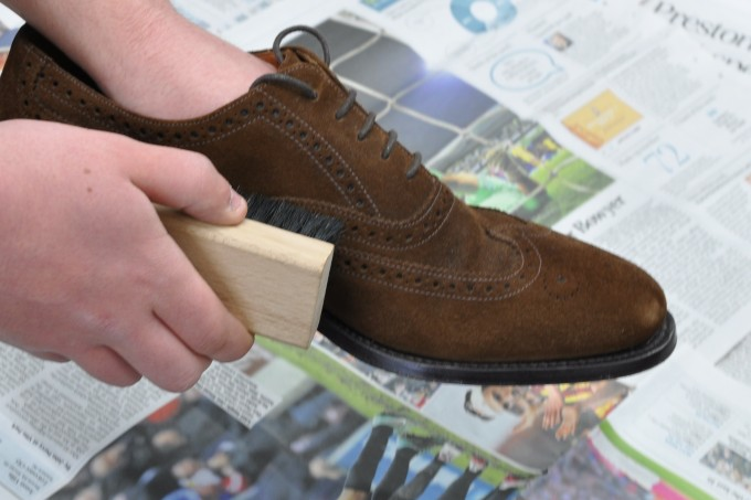 How To Get Water Stains Out Of Suede Boots | How Do You Clean Suede | Suede Shoe Brush