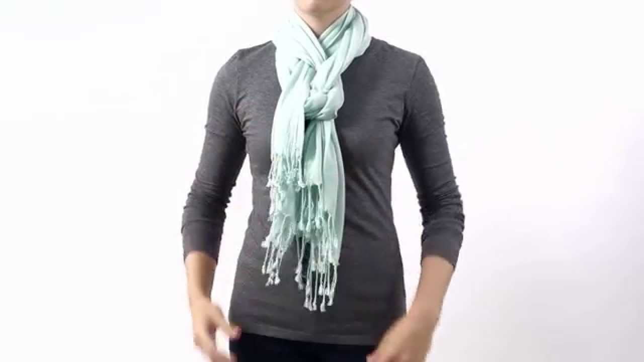 How to Tie A Silk Scarf | Scarf Knots | 50 Ways to Tie A Scarf