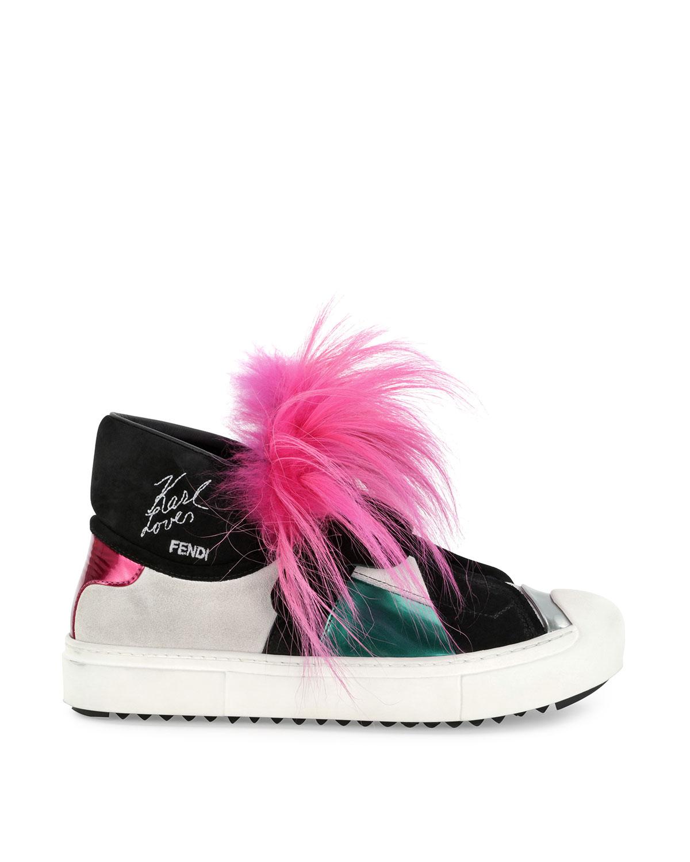 Kendall Jenner Keychain | Karl Lagerfeld Fendi | Fendi Fur Monster