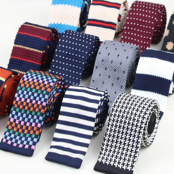 Knit Ties | Bow Tie Knitting Pattern | Knit Bow Tie Pattern