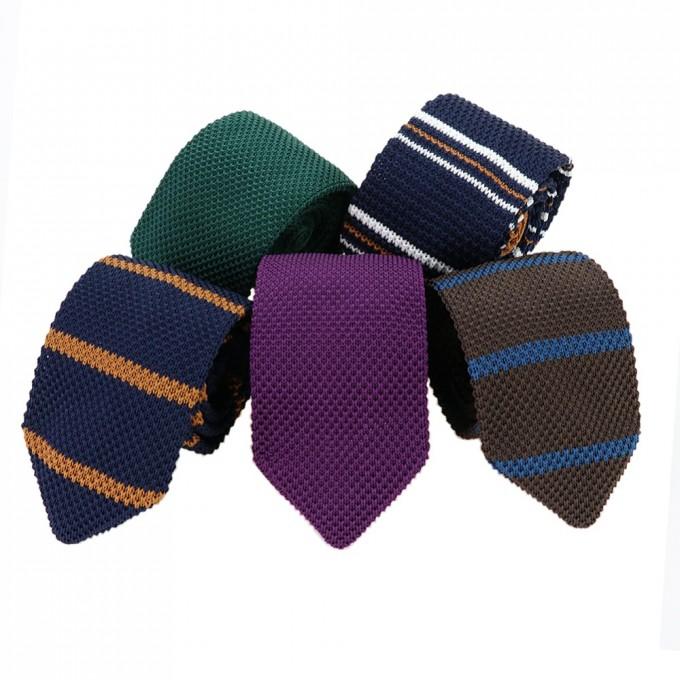 Knit Ties | Silk Knit Ties | Woven Silk Tie