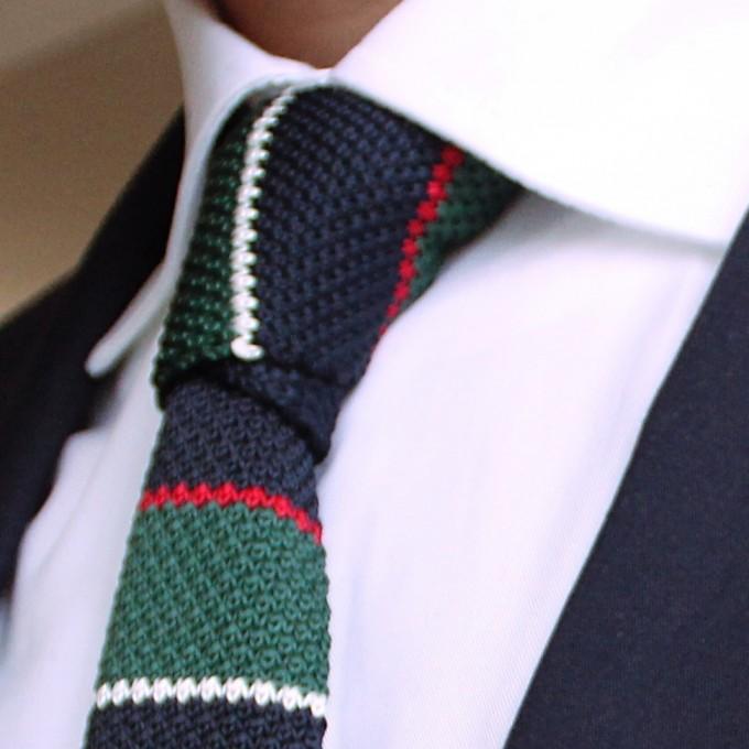 Knit Ties | Waffle Tie | Crochet Ties
