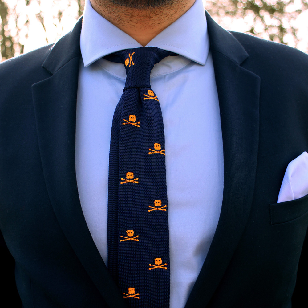 Knitted Silk Ties | Knit Ties | Woven Necktie