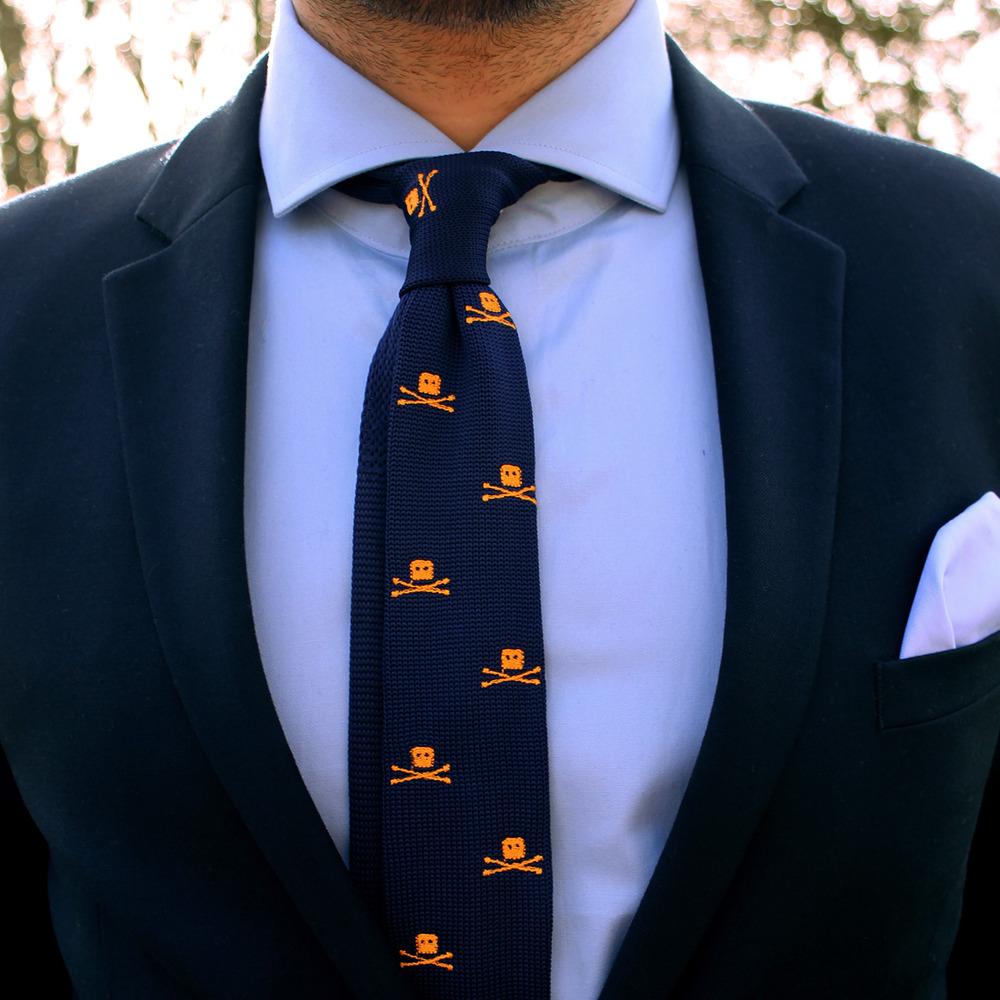 Knitted Silk Ties | Knit Ties | Woven Necktie