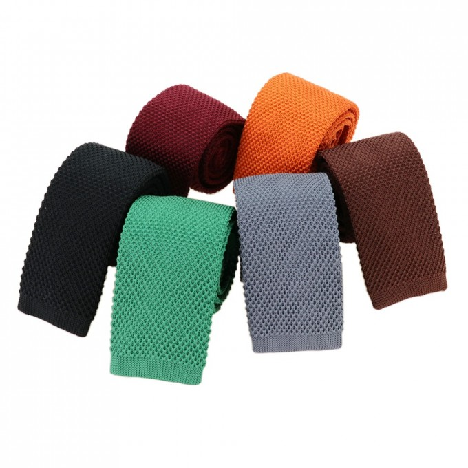 Knitted Tie Pointed End | Hugo Boss Knit Tie | Knit Ties