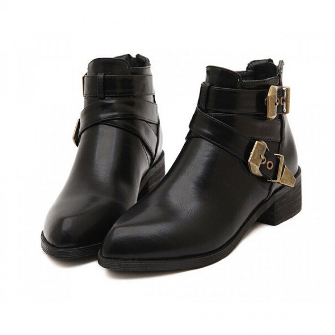 Kohls Boots For Womens | Black Ankle Boots With Buckles | Target Ankle Boots