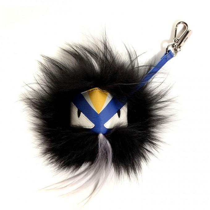 Kylie Jenner Key Chain   Fendi Fur Monster   Bug Keychain