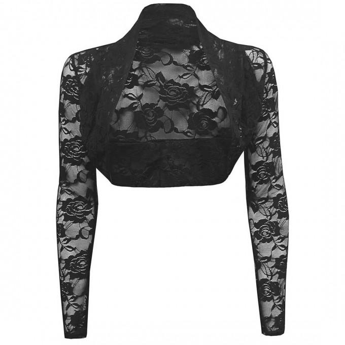 Lace Shrug | Sequin Shrug | Beige Shrug