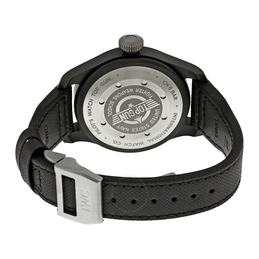 Large Chronograph Watches | Iwc Pilot Top Gun | Iwc Top Gun