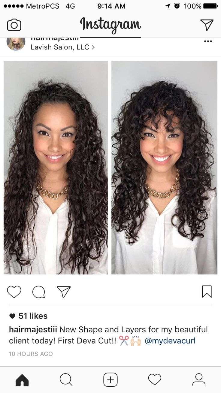 Layered Curly Hair | Curly Hairstyles for Medium Hair | Curled Bob Hair