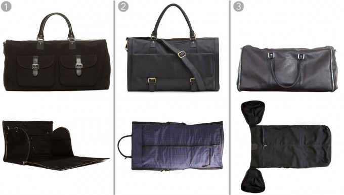 Leather Duffle Bag | Weekender Bag For Men | Rolling Duffle