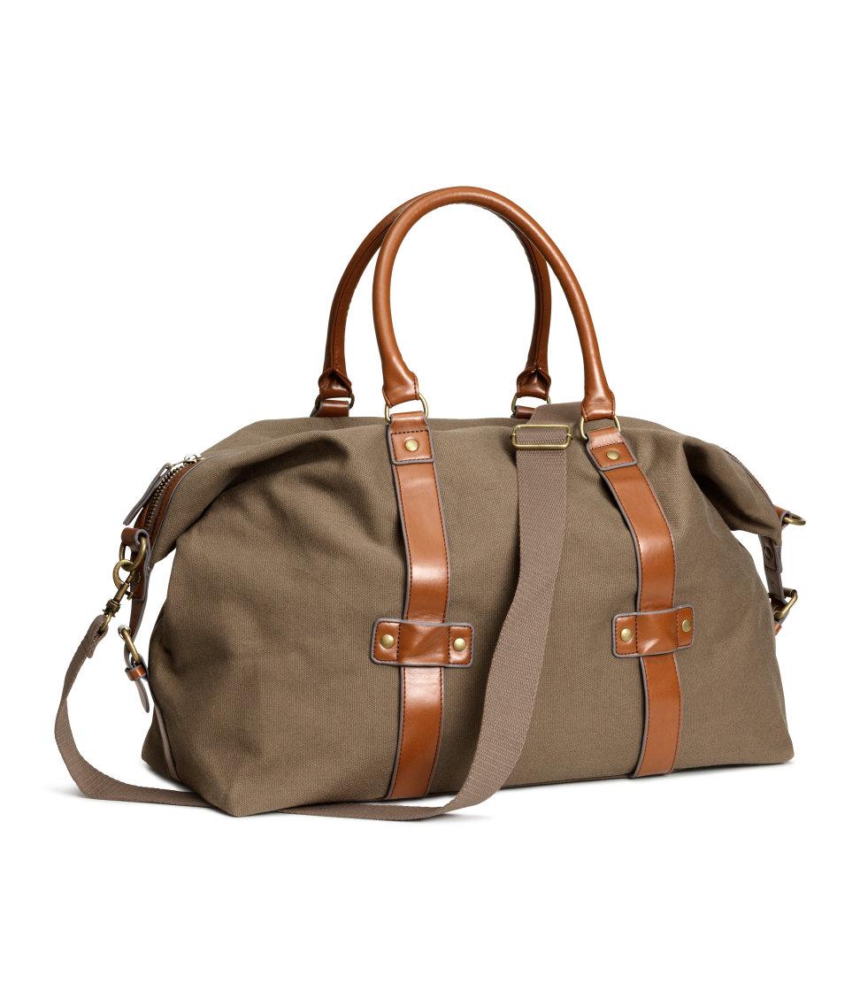 Leather Duffle Bags for Men | Weekender Bag for Men | Baggu Weekender