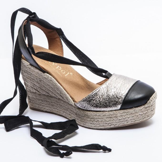 Leopard Lace Up Sandals | Low Heel Espadrilles | Espadrilles Tie Up