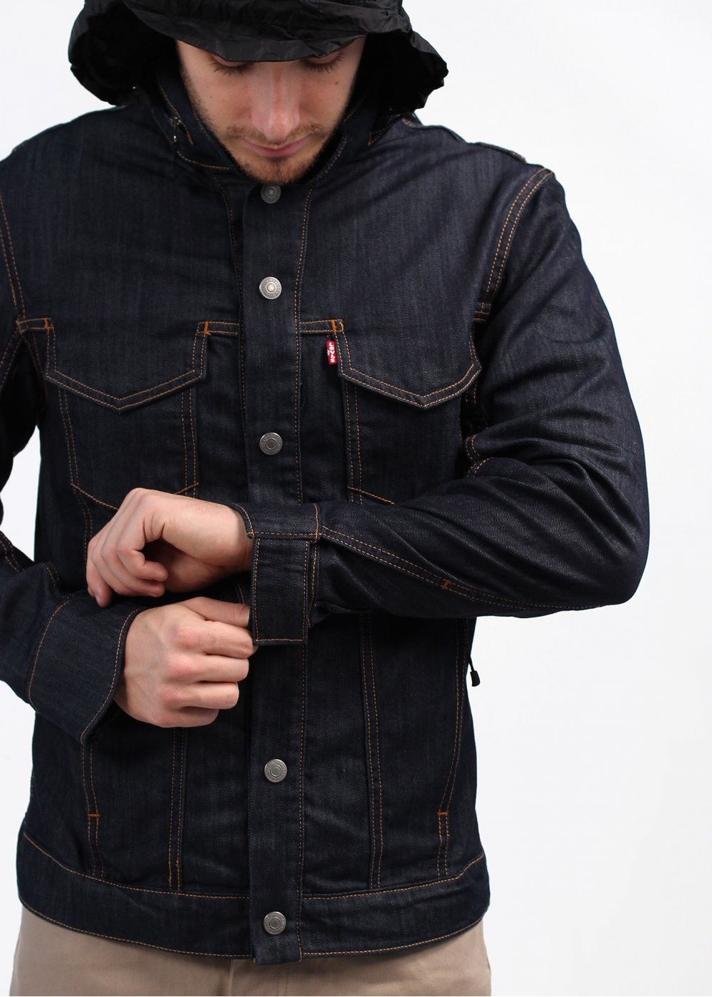 Levis Commuter Hooded Jacket | Mtb Jeans | Levis Commuter Jacket