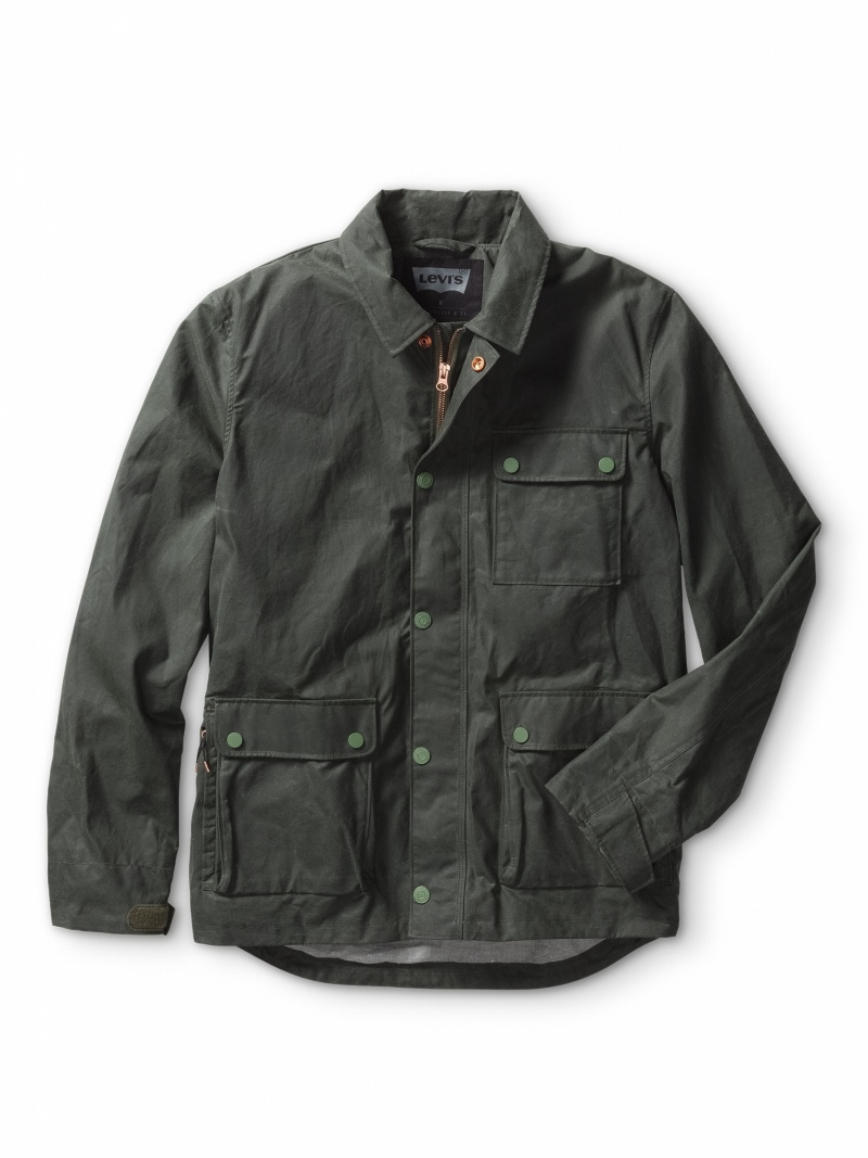 Levis Rain Jacket | Levis Commuter Jacket | Levi Commuter Pants