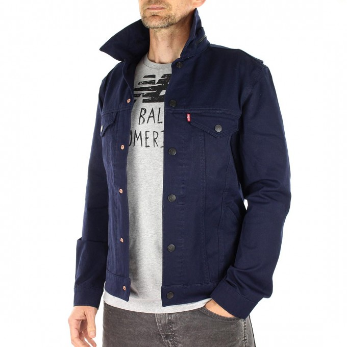 Levis Slim Fit Trucker Jacket | Levis Commuter Jacket | 504 Commuter