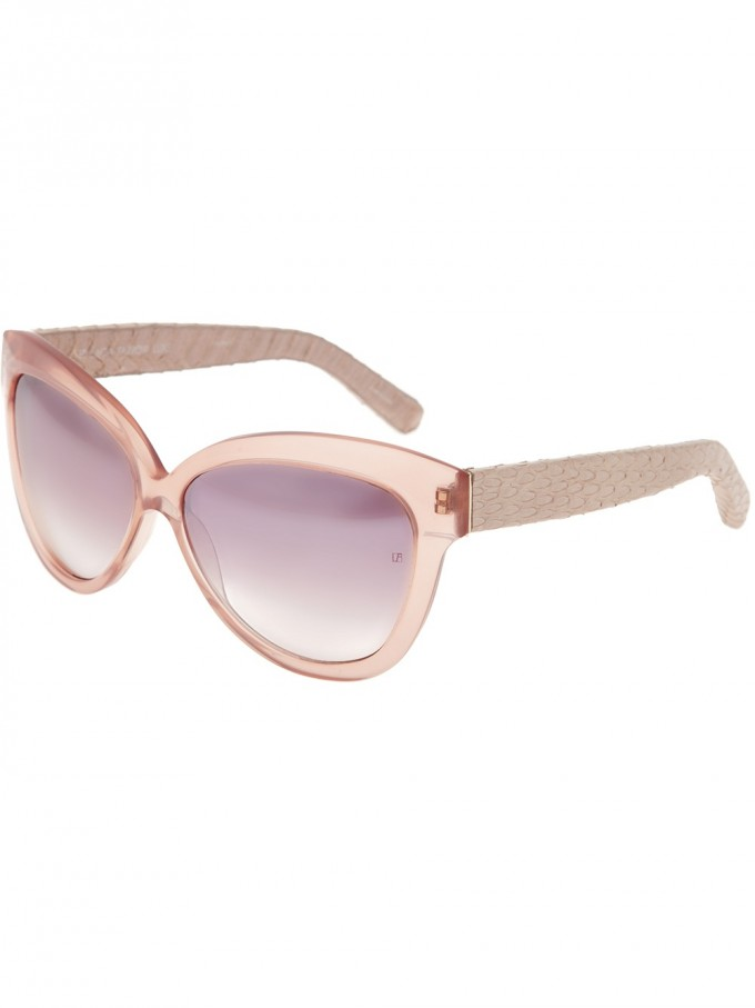 Linda Farrow Jeremy Scott Sunglasses | Linda Farrow Gilt | Linda Farrow Sunglasses