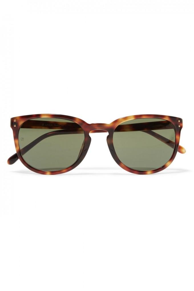 Linda Farrow Sunglasses | Linda Farrow Eyewear | Linda Farrow Rose Gold