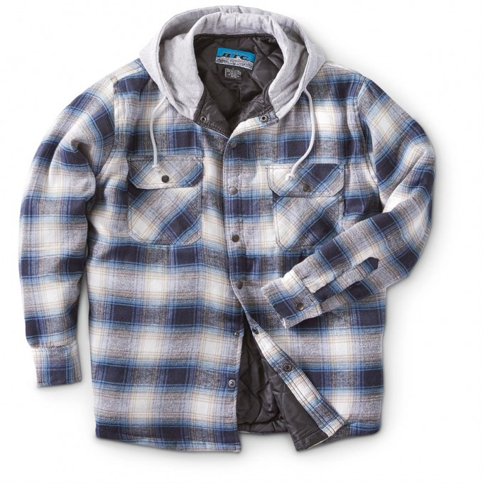 Lined Flannel Shirt Mens | Heavy Flannel Shirts | Quilted Flannel Shirt