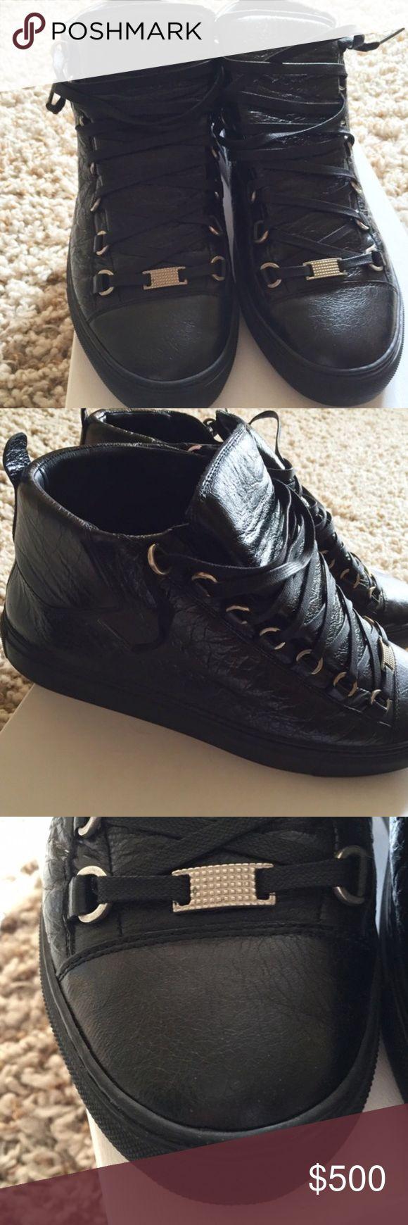 Louboutin Mens Sneaker | All Black Balenciaga Arena Sneakers | Balenciaga Arena Sneakers