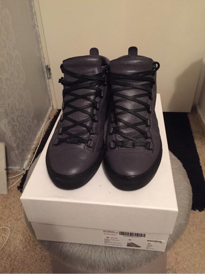 Louboutin Shoes Mens | Snakeskin Tennis Shoes | Balenciaga Arena Sneakers