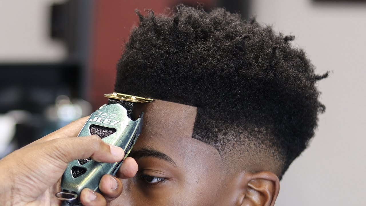 Low Fade Haircut   Bald Fade   Temple Taper Haircut Pictures