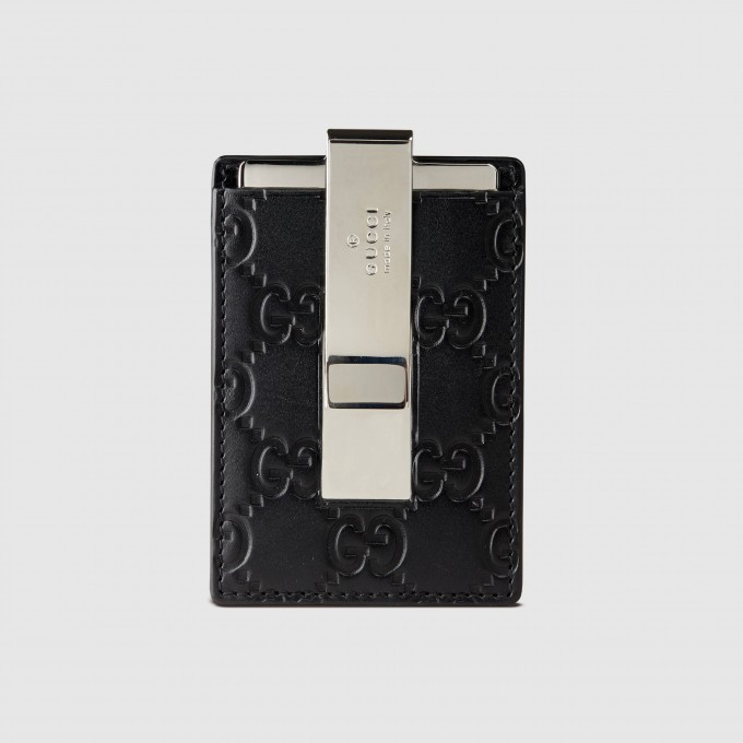 Luxury Mens Wallets | Mens Wallets With Money Clip Inside | Gucci Money Clip