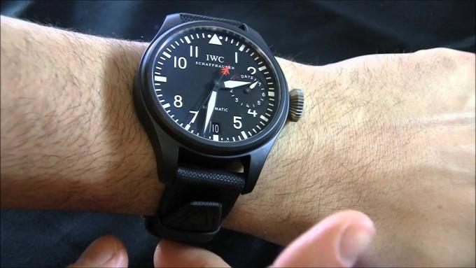 Luxury Pilot Watches | Iwc Top Gun | Iwc Top Gun Strap