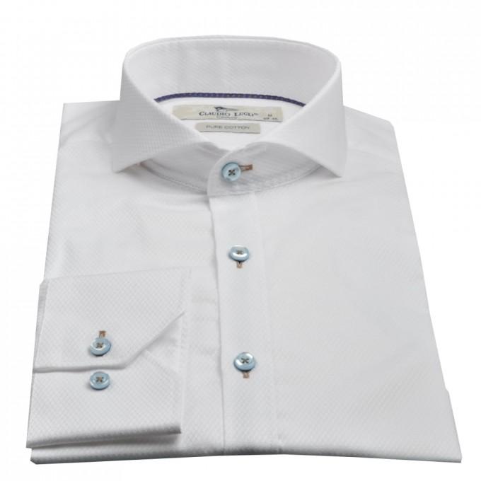 Mandarin Collar Dress Shirts | Cutaway Collar | Button Down Shirt Without Collar