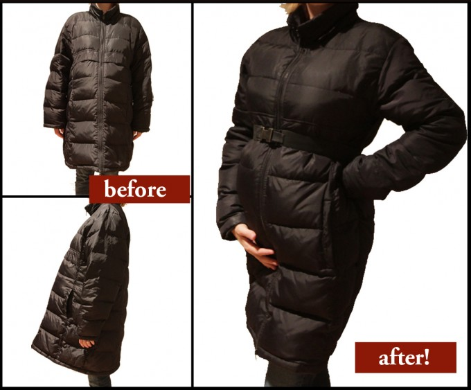 Maternity Jackets | Maternity Zip Up Hoodie | Winter Maternity Clothes