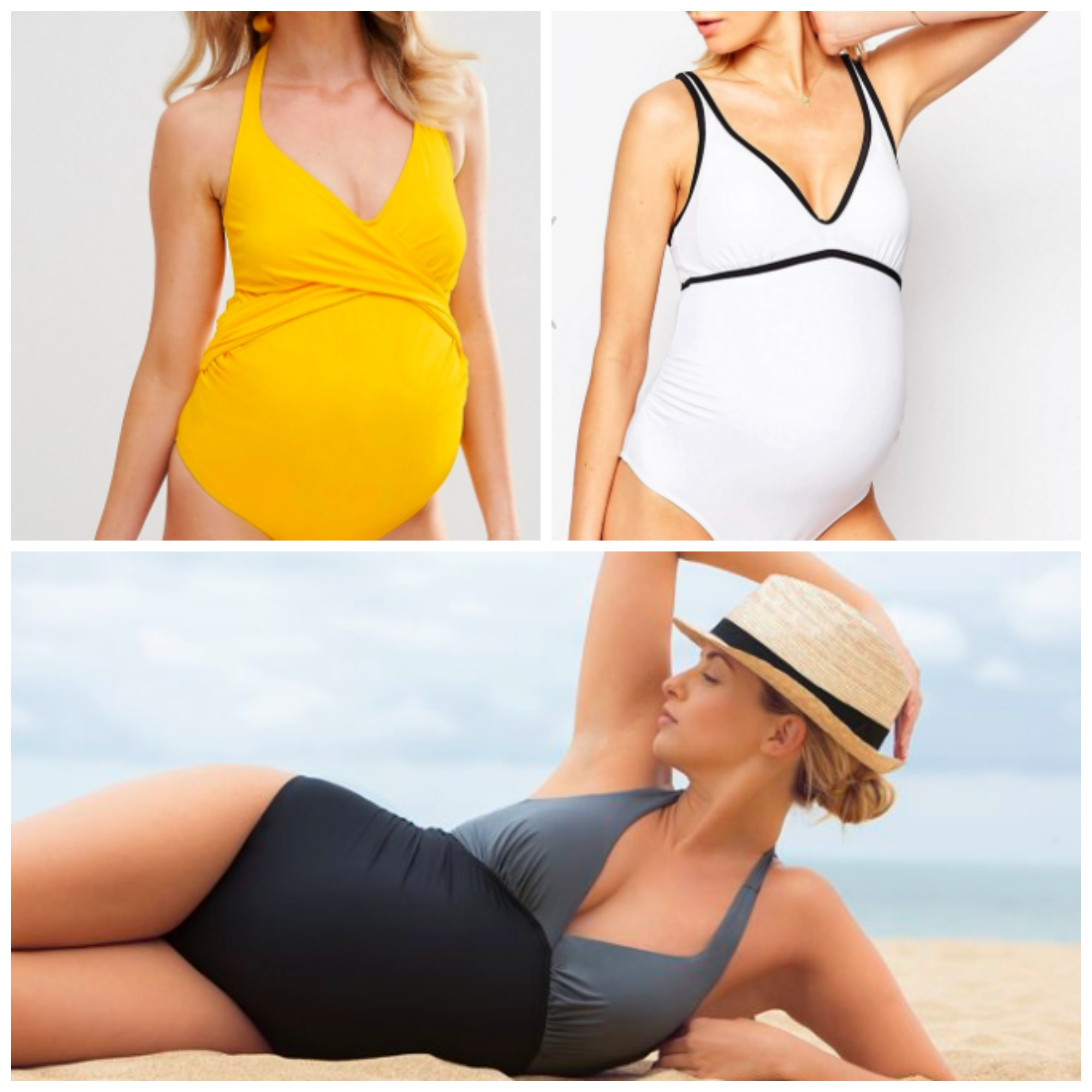 Maternity One Piece Bathing Suit | Maternity Swimsuit | Bathing Suit Pregnancy