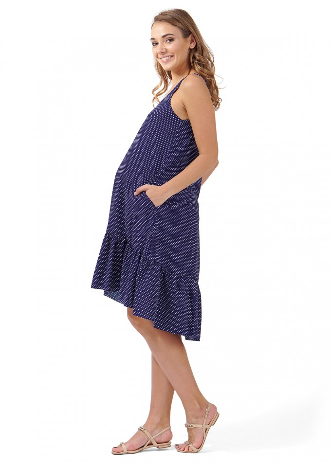 Maternity Sundress | Asos Maternity Dresses | Maternity Jean Shorts