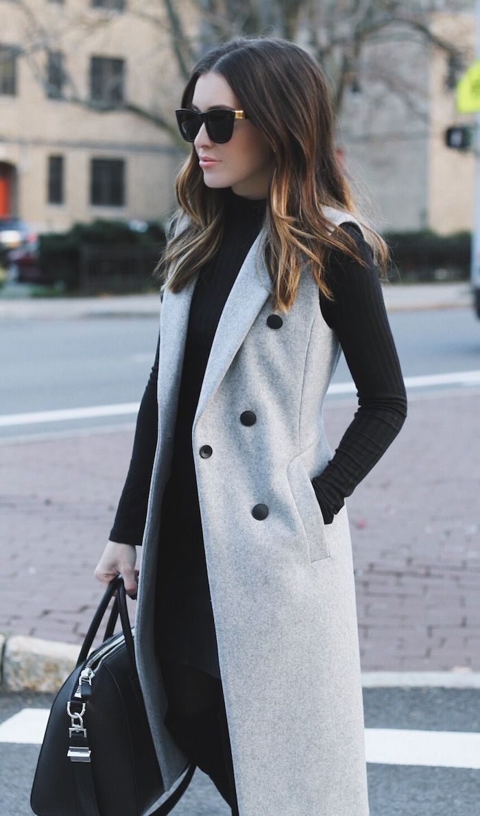 Maxi Trench Coat | Flowing Trench Coat | Sleeveless Trench Coat