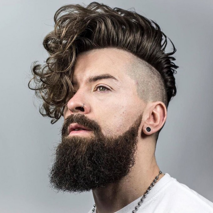 Medium Curly Hairstyles | Hairstyles For Men With Curly Hair | Sexy Curly Hairstyles