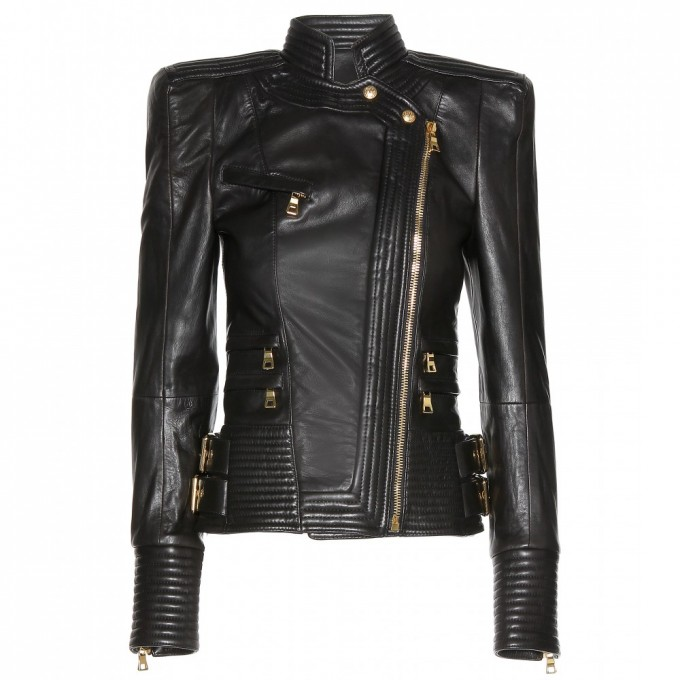 Mens Balmain Leather Jacket | Balmain Leather Jacket | Balmain Shoes Men