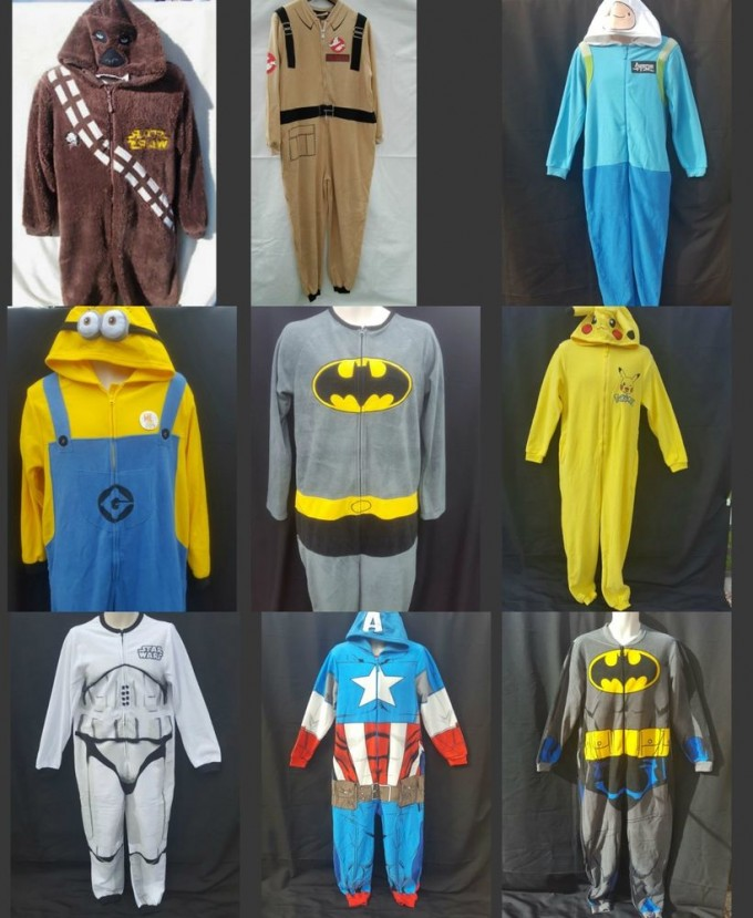 Mens Batman Onesies | Batman Onesie | Zombie Onesie For Adults