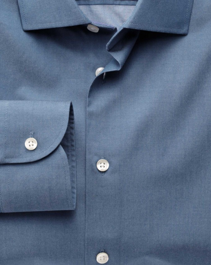 Mens Dress Shirt Collar Styles | Cutaway Collar | Wide Spread Collar Shirt