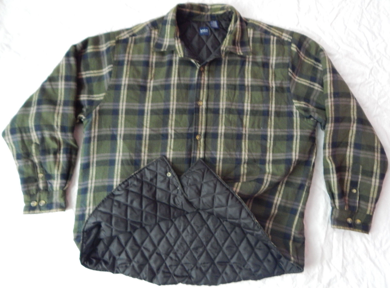 Mens Flannel Jackets | Shammy Shirt | Quilted Flannel Shirt