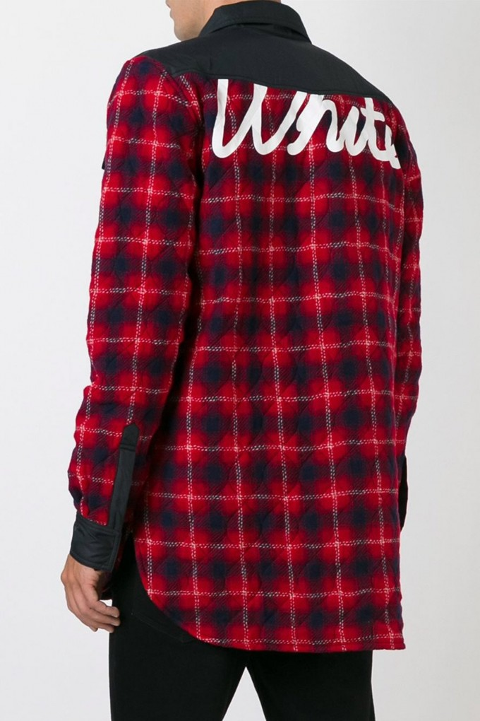 Mens Flannel Shirt Jacket | Quilted Flannel Shirt | Flannel Hoodie Mens