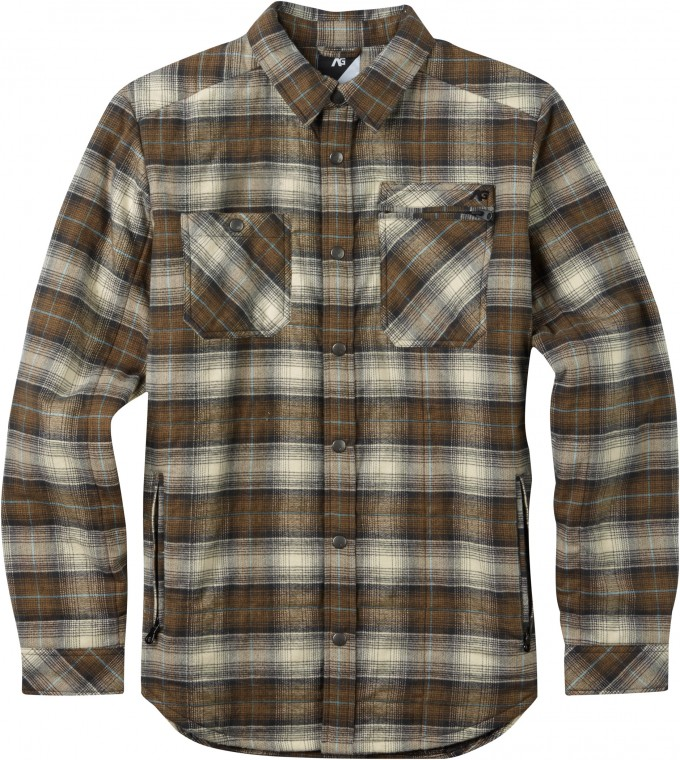 Mens Flannel Shirt | Quilted Flannel Shirt | Flannel Lined Denim Shirt